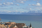 Views from the Chateau de Nyon, Nyon, Switzerland, March 2013